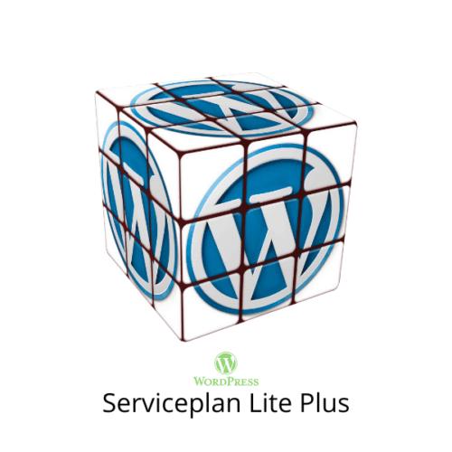 WordPress Serviceplan Lite Plus